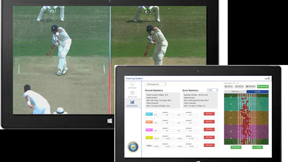 Hawk eye for Smart cricket