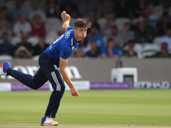 Chris Woakes Bowling ODI