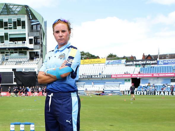 Lauren Winfield Yorkshire Diamonds captain