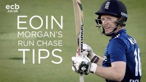 Eoin Morgan on how to manage a run chase