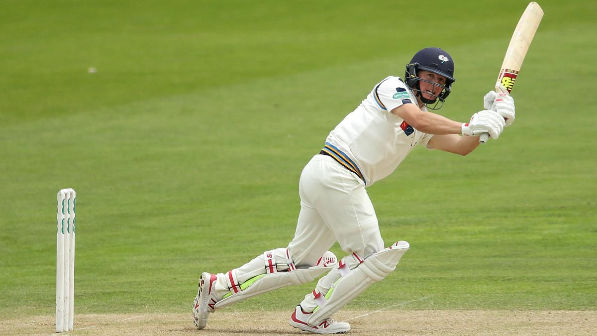 Captain Gary Ballance in action for Yorkshire