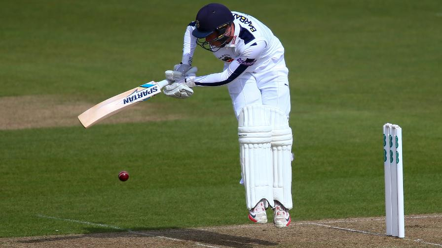 Alsop ton gives Hampshire hope