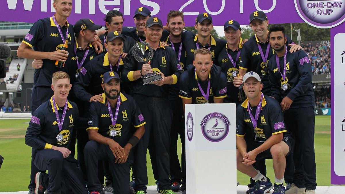 Warwickshire lift the Royal London One-Day Cup