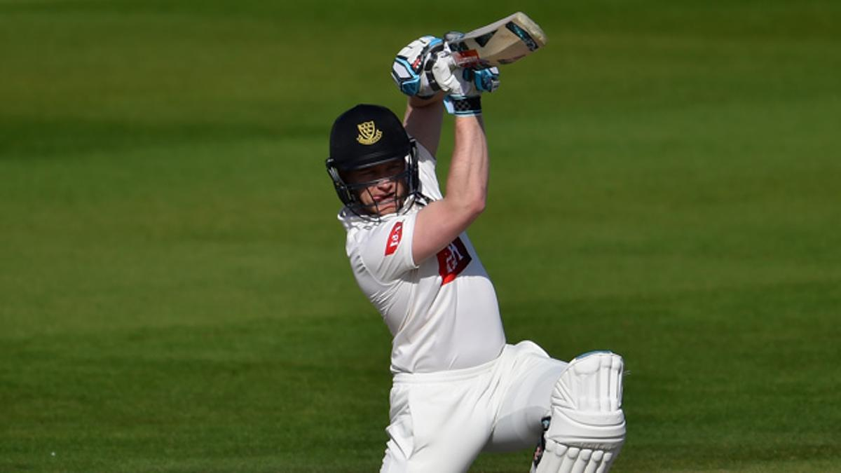 Ben Brown hit eleven fours in his innings of 77