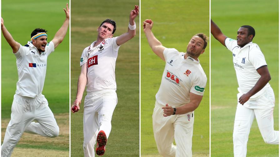Championship best: fast bowler of the season