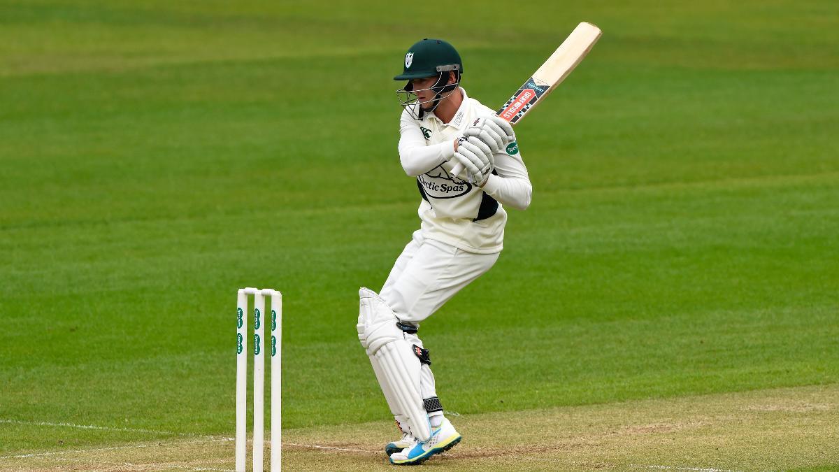 Joe Clarke made 77 in an impressive innings