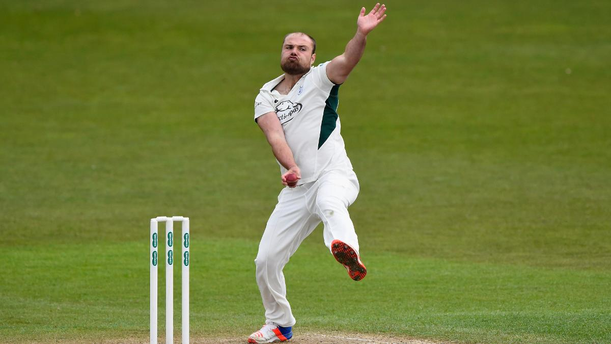 Joe Leach continued his fine start to the season with three wickets against Northants