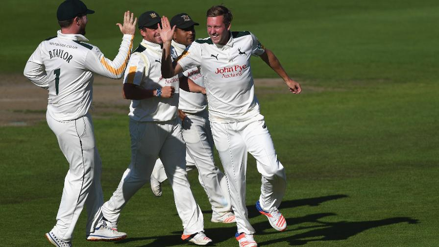 Notts set up thriller at Trent Bridge