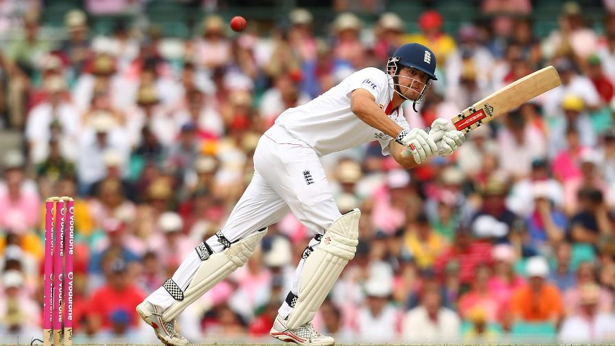 Cook enjoyed a record-breaking Ashes in 2010/11, hitting three tons and 766 runs in total