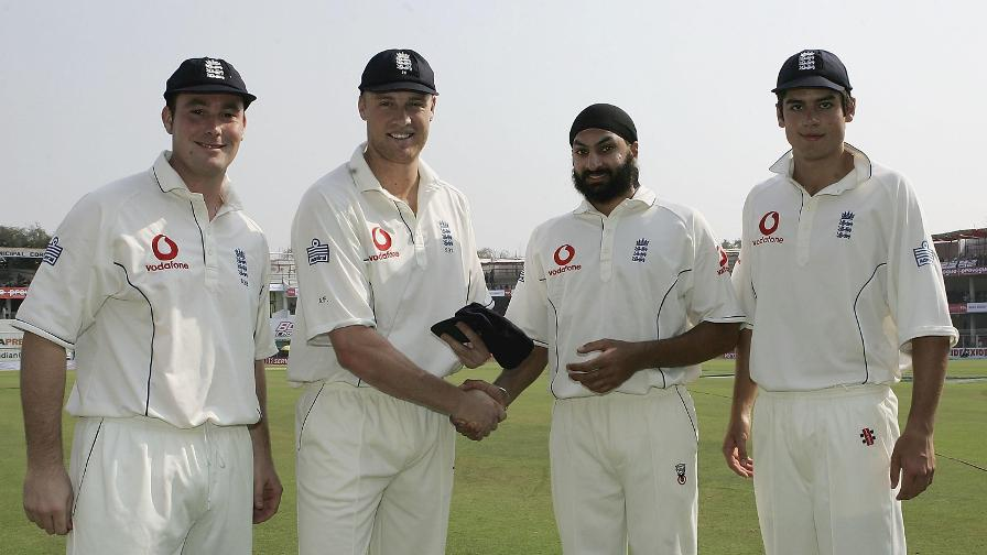 Alastair Cook made his debut alongside Ian Blackwell and Monty Panesar in Nagpur in March 2006