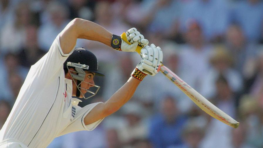Cook scored his first hundred on home soil against Pakistan at Lord's in 2006