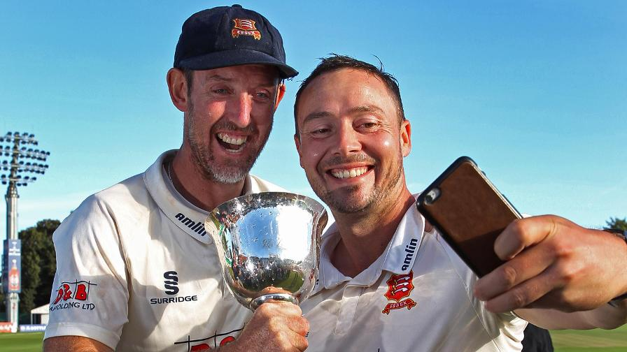Napier signs off in style