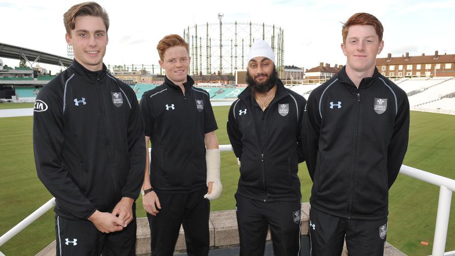 Surrey quartet set for Dubai trip with Young Lions