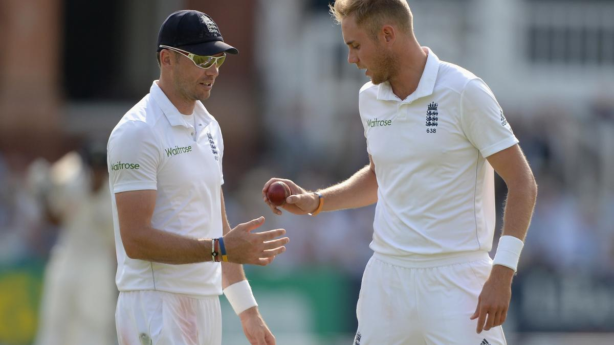 Stuart Broad and James Anderson have shared the new ball since 2009