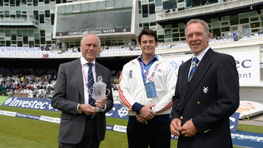Yorkshire's Andy Fogarty announced as ECB Groundsman of the Year