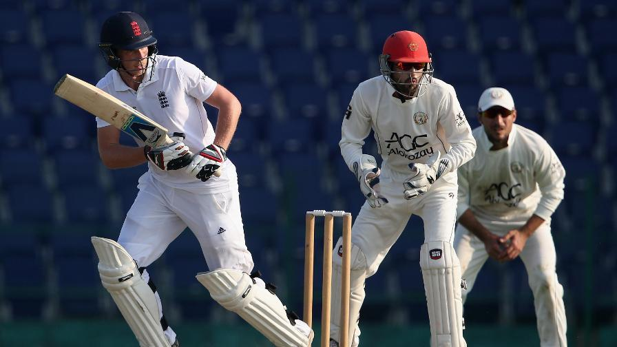 Afghanistan v England Lions - Day 1 Report