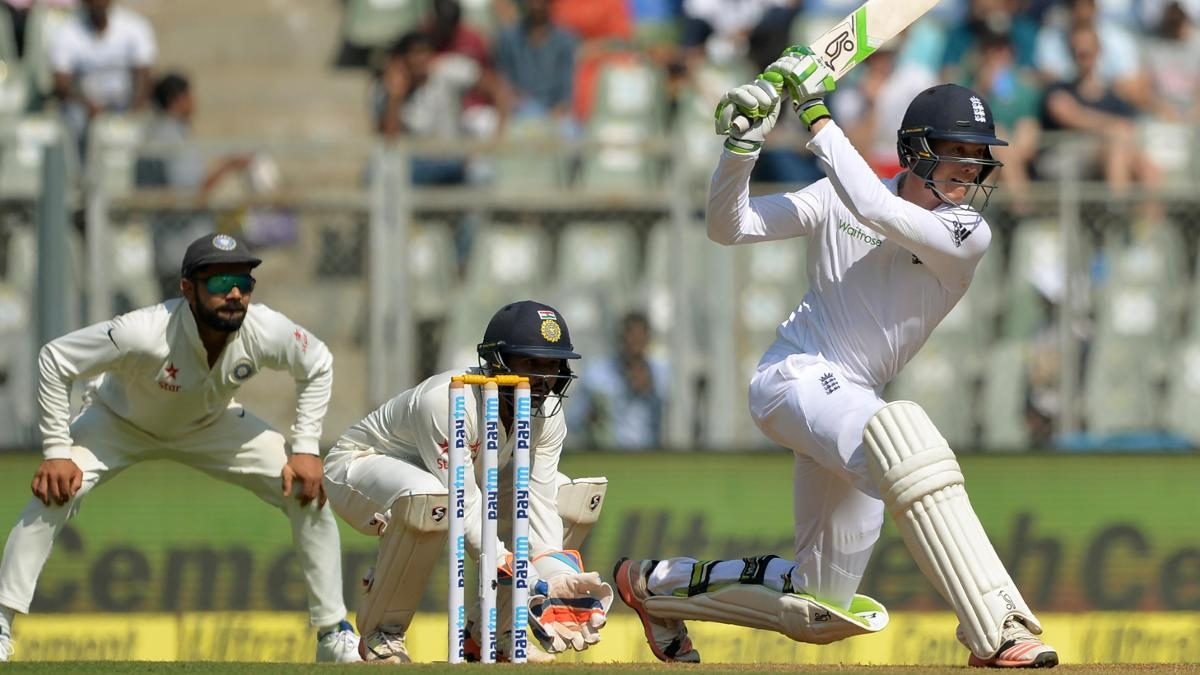 Jennings scored 112 off 219 balls on Test debut