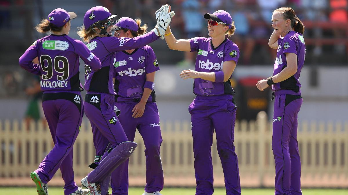 England captain Heather Knight will lead Hobart Hurricanes in their WBBL semi-final