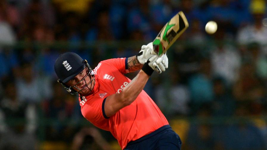 Jason Roy hit a fluent 32 as England made a positive start