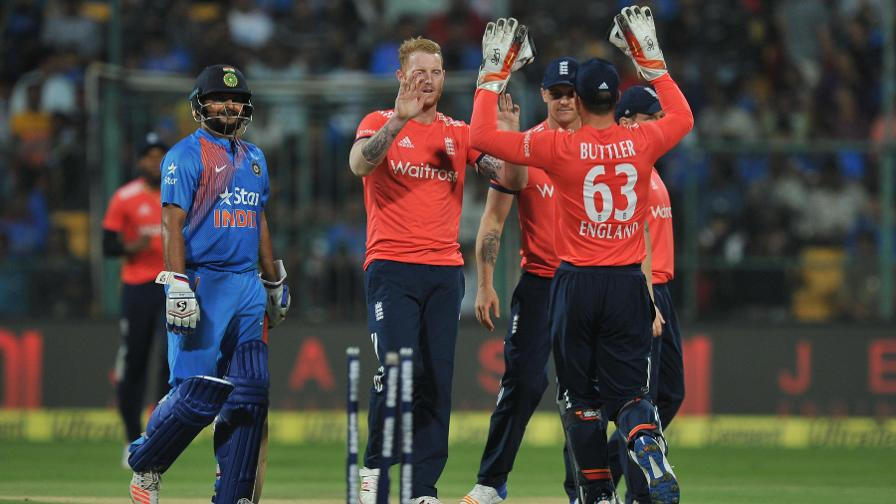 Ben Stokes castled Lokesh Rahul to leave India 65 for two