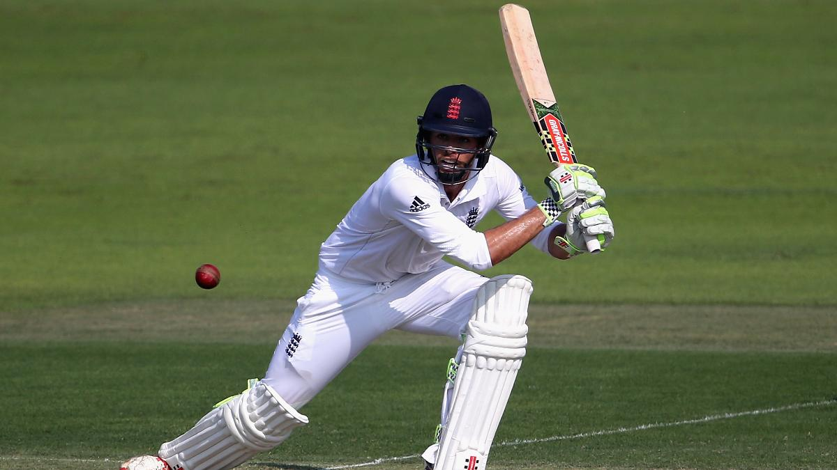 Ben Foakes in action for England Lions