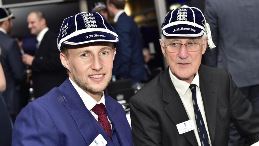 Learning from the master – Joe Root chats to former England captain Mike Brearley