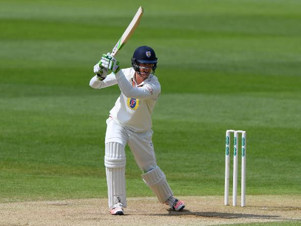 Keaton Jennings batting for Durham