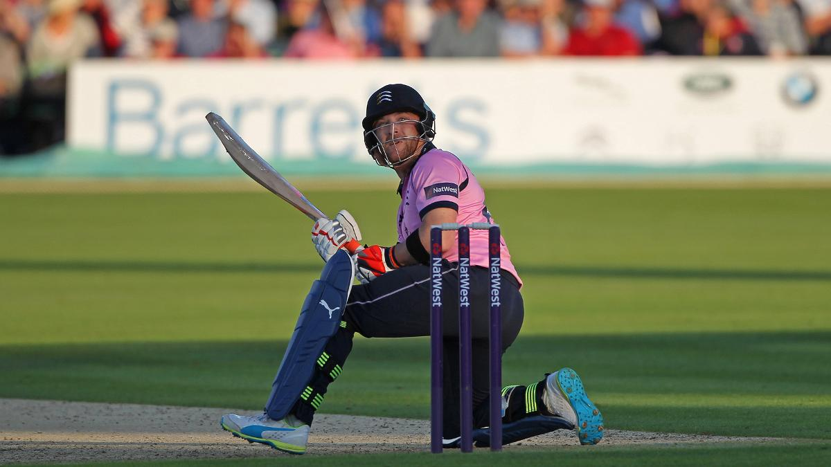Brendon McCullum ramping for Middlesex in #Blast16