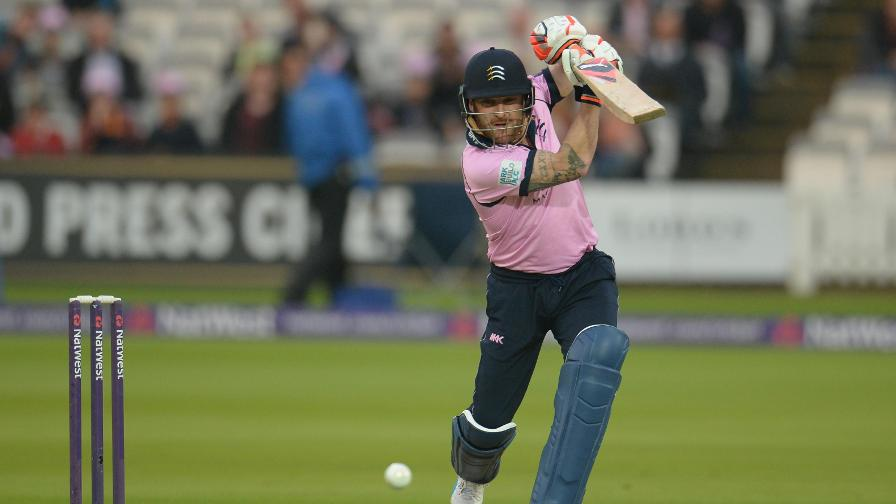 Middlesex sign Brendon McCullum for #Blast17