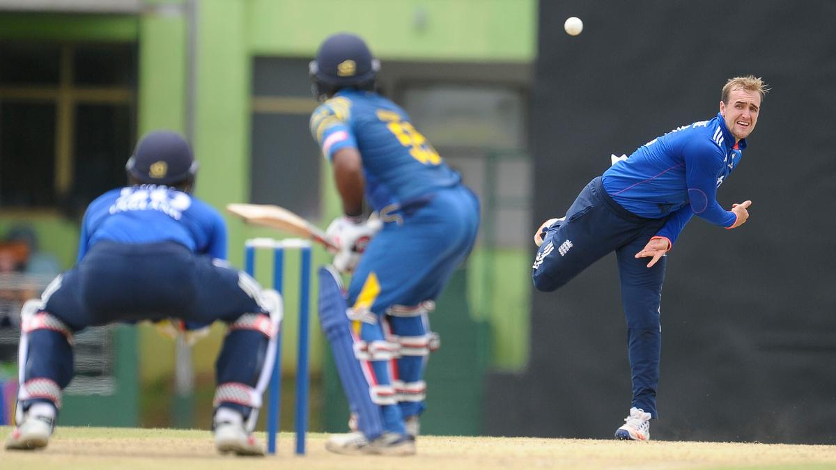 Liam Livingstone took 1-28 from 10 overs in the first one-day match against Sri Lanka A