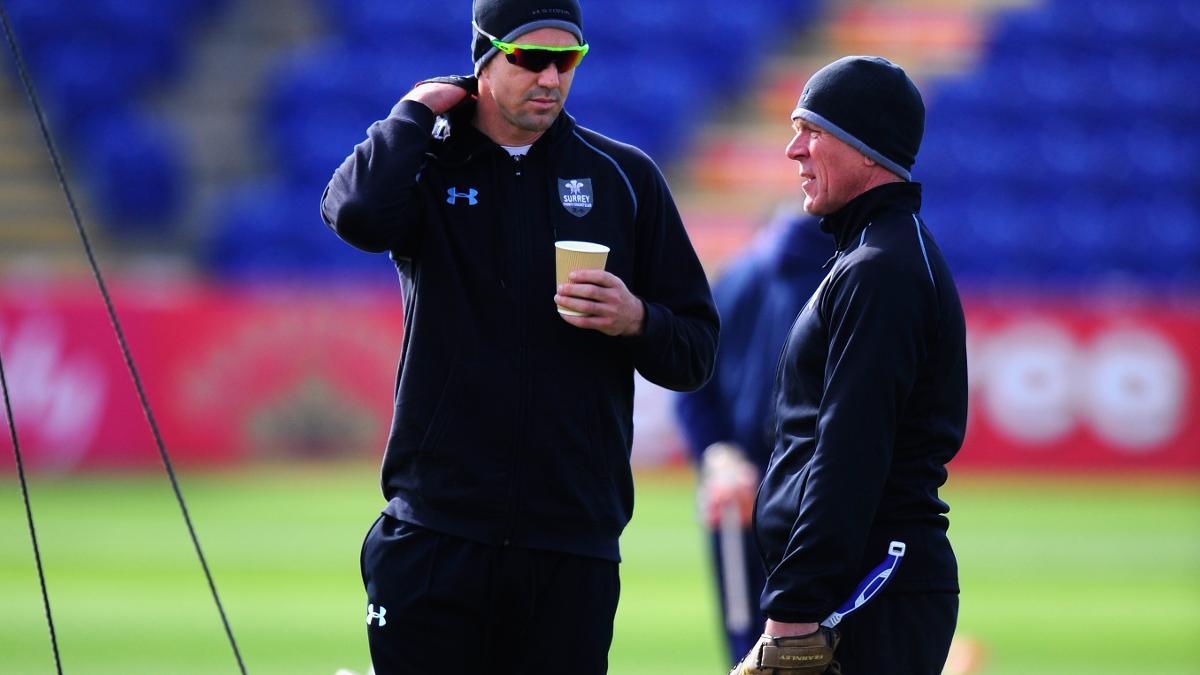Kevin Pietersen and Alec Stewart