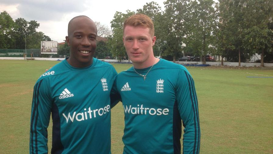 Bell-Drummond century sets up England Lions victory