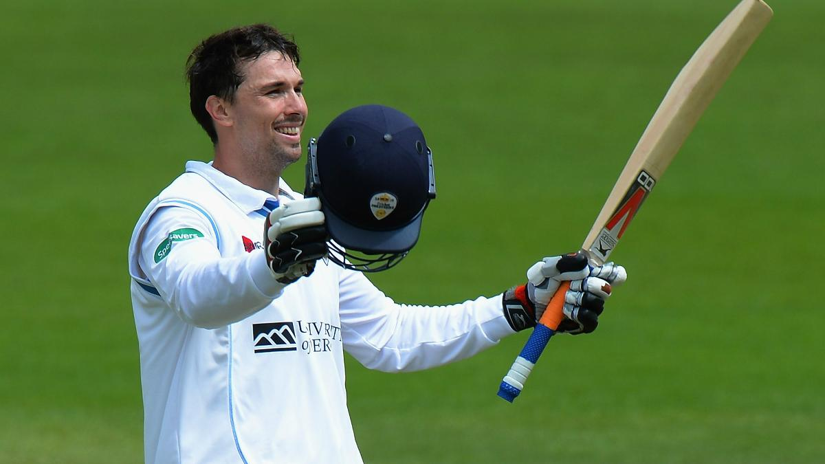Billy Godleman top scored for Derbyshire with 121
