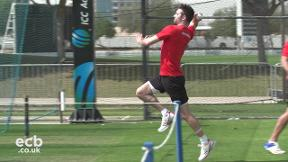 North-South Series - Mark Wood is back in the nets!