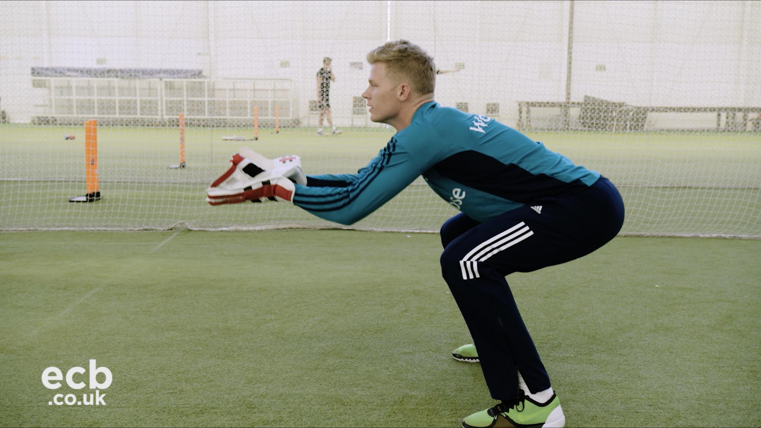 ecb.co.uk - Sam Billings on how to improve your positioning when wicketkeeping