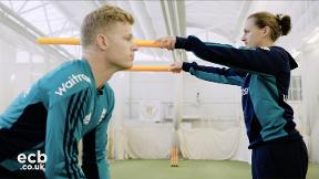 Sam Billings shares his go-to wicketkeeper warm-up