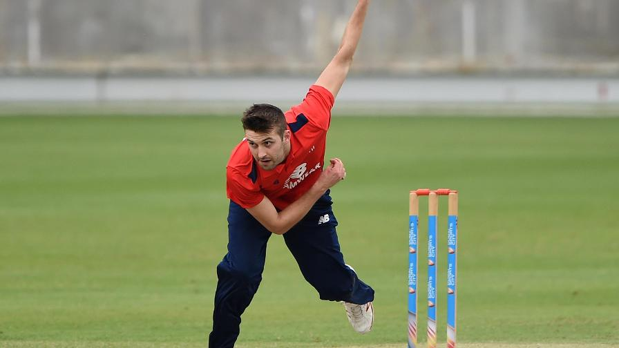 Mark Wood returned to competitive action for the North