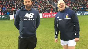 Cricket meets rugby - Stokes and Plunkett in Dublin
