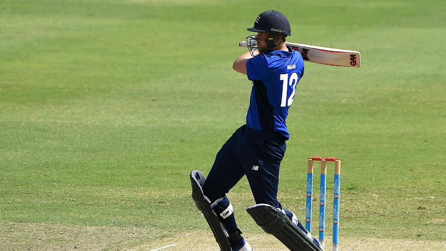 Dawid Malan's fine form continued in Dubai with 78 from 67 balls