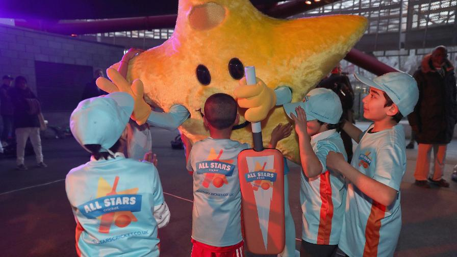 Everyone got involved in – even the mascot!