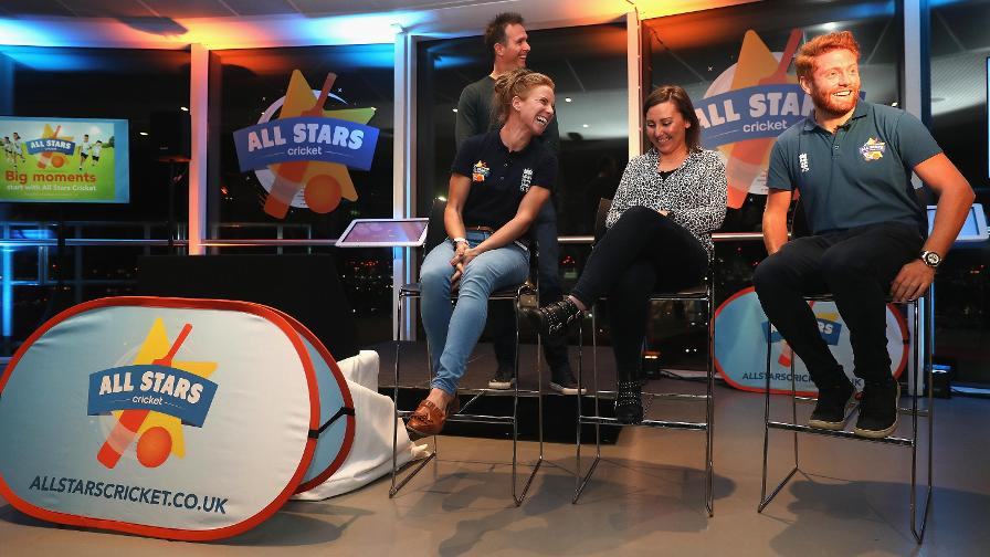 Winfield and Bairstow also took part in a Q&A with parent blogger Louise Hegarty and Michael Vaughan