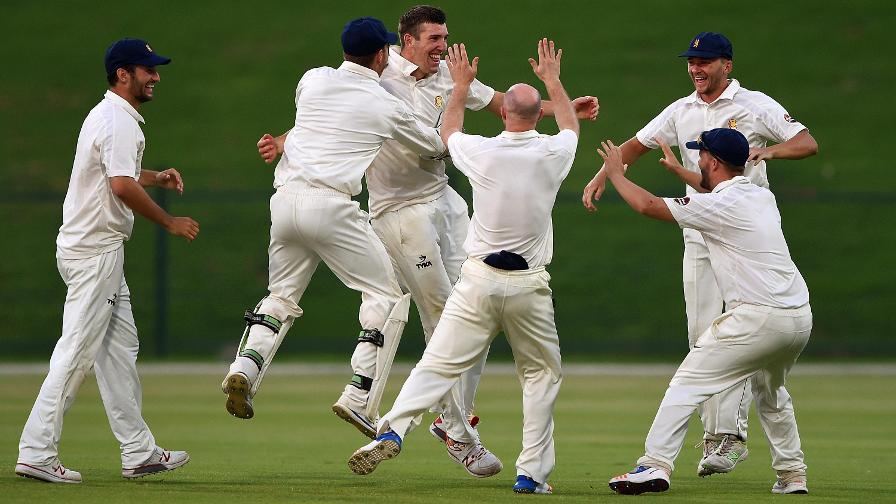 Yorkshire out for 202 in action-packed Division One
