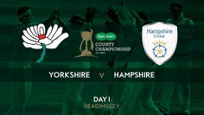 Highlights - Coad grabs five-for and Ballance hits a hundred for Yorkshire on Day 1