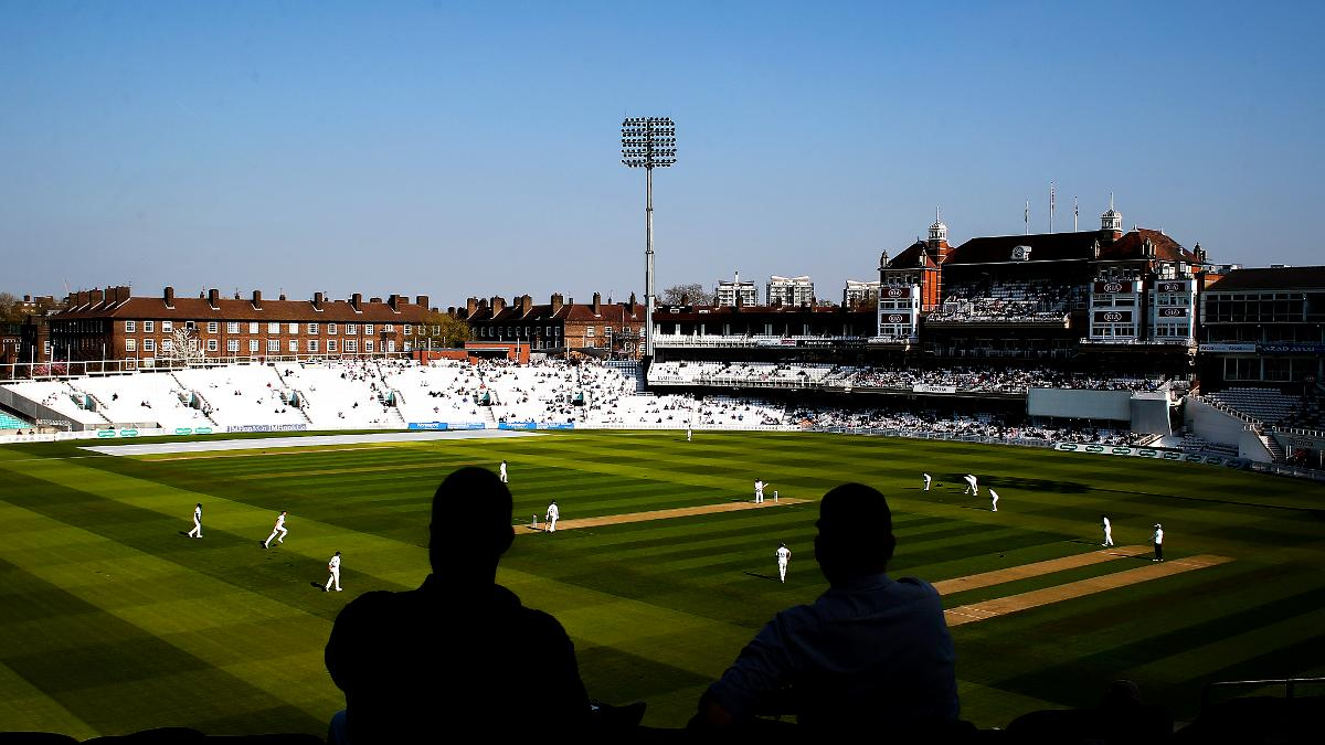 WHAT A DAY FOR IT - Friday afternoon at the Oval