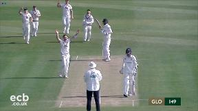 Highlights - Claydon and Harris put Kent in charge