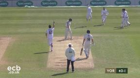 Highlights - Abbott 7-41 as Hampshire fight back