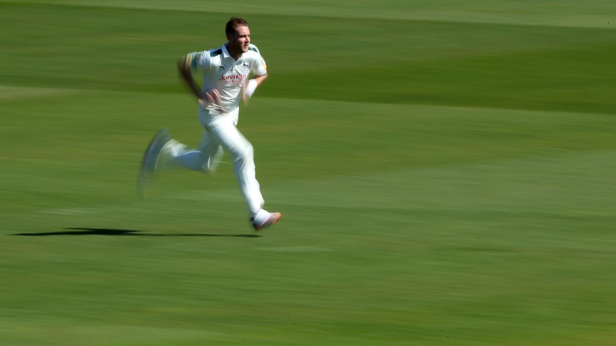 Stuart Broad bowled 21 overs in the win over Leicestershire