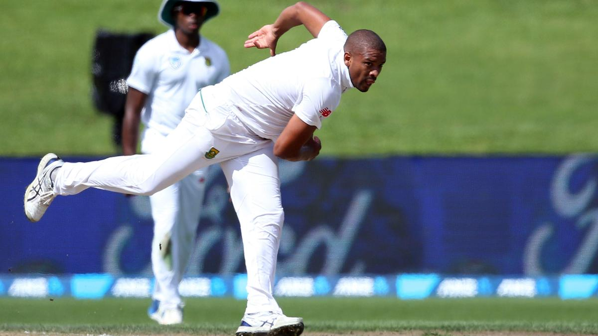 New Sussex overseas signing Vernon Philander in action for South Africa