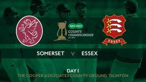 Highlights - Somerset v Essex - Day 1
