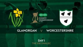 Highlights: Glamorgan v Worcestershire - Day 1